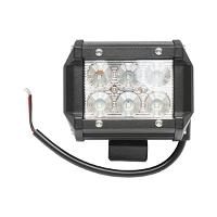 Lampa iluminat 6 leduri 10-30V 18W - unghi radiere 60 de grade tip flood