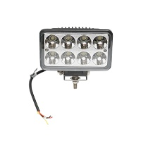 Lampa iluminat 8 leduri 10-30V 24W - 152*90*65mm unghi radiere 30 de grade tip spot