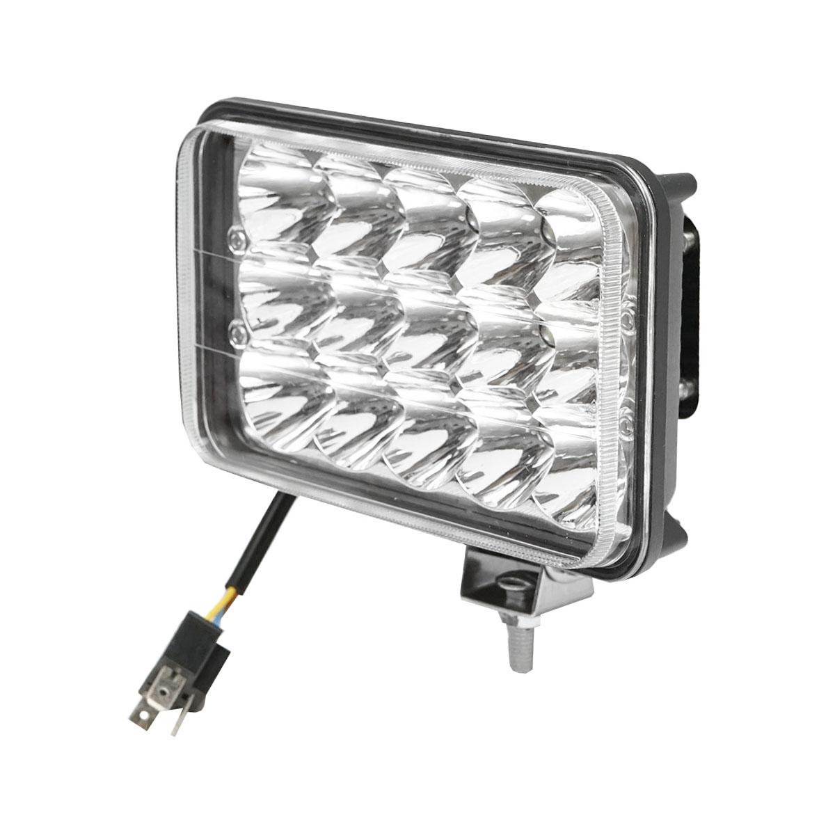 Lampa iluminat 15 leduri 10-30V 45W - unghi radiere 30 de grade tip spot