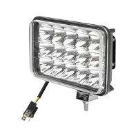 Lampa 15 LED-uri  2 faze 10-30V 45W unghi de radiere 30