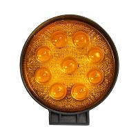 Lampa iluminat pentru ceata cu 9 leduri 10-30V 27W - unghi radiere 30 de grade tip spot