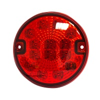 Lampa ceata LED rosie fi 140mm