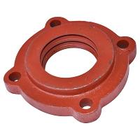 Capac exterior lagar disc GD 3,2 asamblat cu rulmenti 32011 si semimosoare - patrat de 30,5