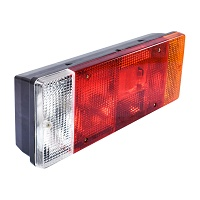 Lampa stop spate dreapta camion cu mers inapoi DSP-16 404x141x76mm