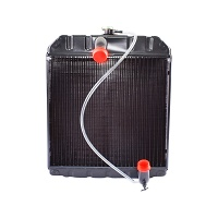 Radiator racire apa TAF 428x455x83 (cupru 6 randuri)