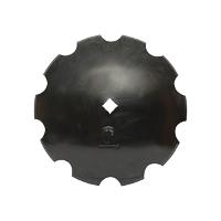 Taler disc crestat 560x5 patrat de 37