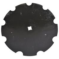 Taler disc crestat 610x6 patrat de 37