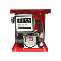 Pompa transfer combustibil 220V 550W Breckner  Debit 60L/min. (Kit cu contor, furtun aspiratie 1,5M, furtun transfer 4M, Pistol)