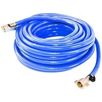 Furtun aer compresor albastru L = 12 m cu capete de legatura pentru umflat roti