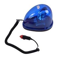 Girofar 24V albastru cu prindere pe magnet - tip lacrima