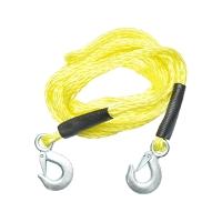 Cablu remorcare impletit 1,8T galben
