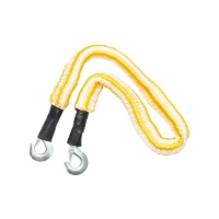 Cablu remorcare elastic galben