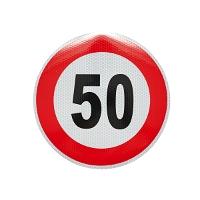 Autocolant limita viteza - 50 fi21