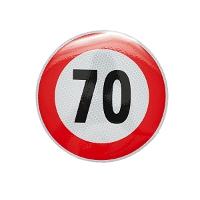 Autocolant limita viteza - 70 fi21