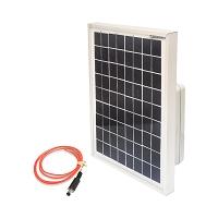 Panou solar gard electric 10W complet cu acumulator 12V - 7A
