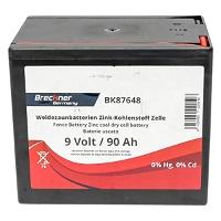 Baterie uscata (nereincarcabila) 9V 90Ah pentru gard electric Breckner Germany