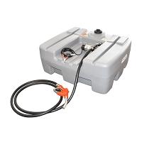 Rezervor motorina 300L cu instalatie de transfer 12V 40L/min 106x90x53cm 30kg Breckner Germany