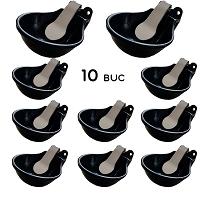 Pachet de 10 adapatori din fonta cu clapeta din inox 1.5L