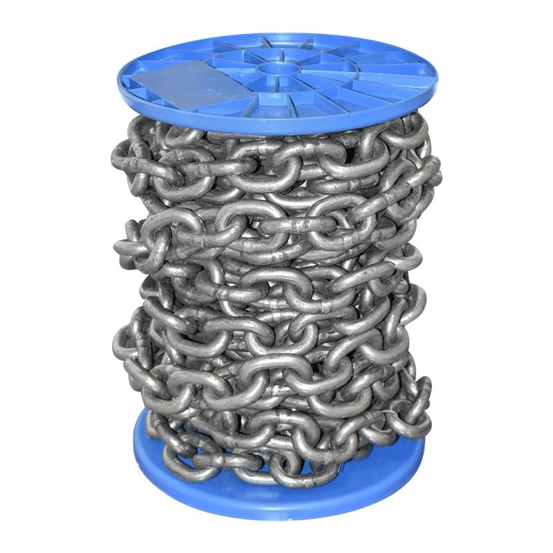 Lant otel DIN766 10m/rola fi10 tambur plastic