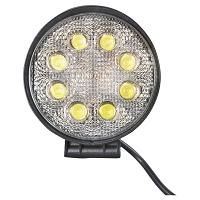 Lampa 8 LED-uri 10-60V 24W unghi de radiere 60 rotund
