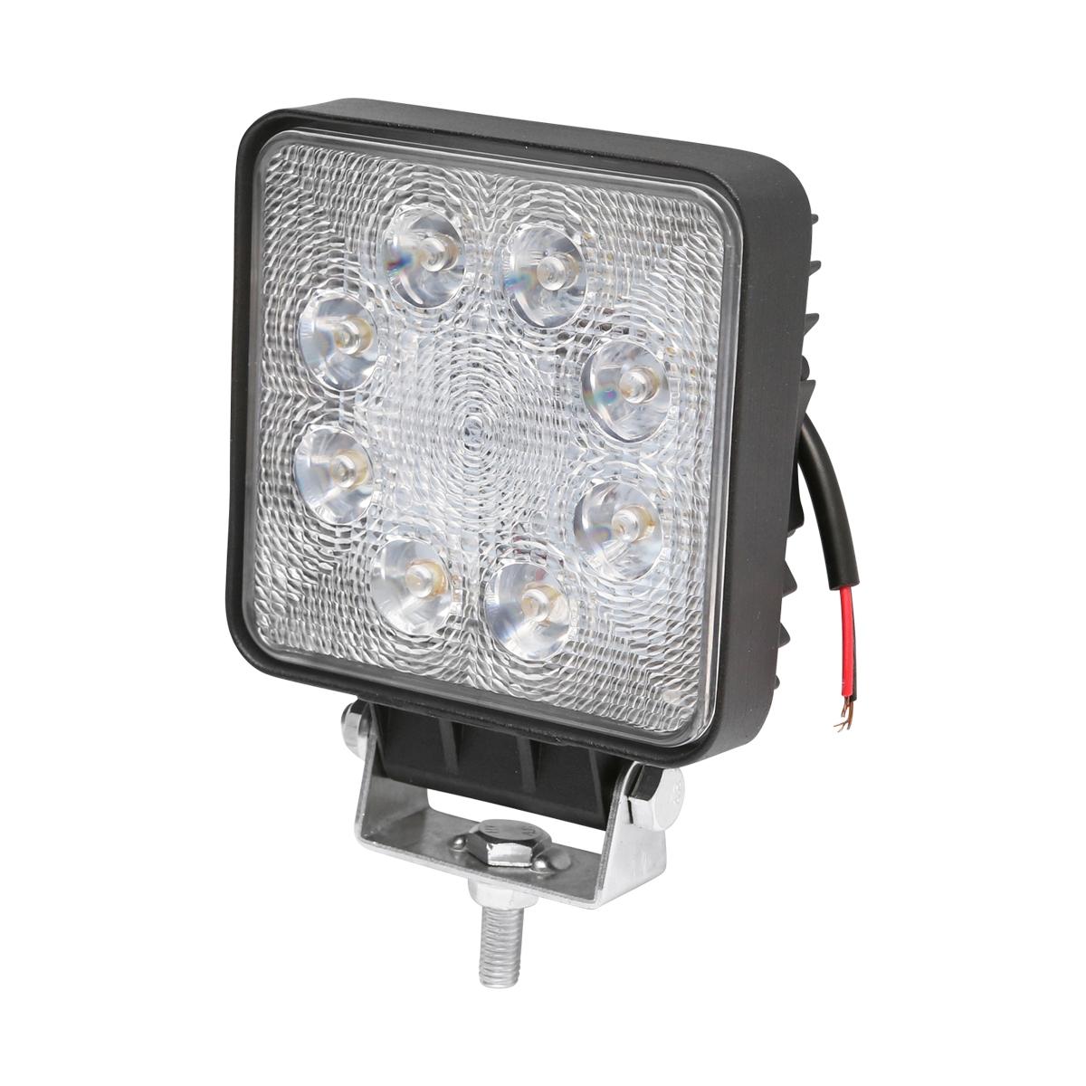 Lampa 8 LED-uri 10-60V 24W unghi de radiere 60 patrat