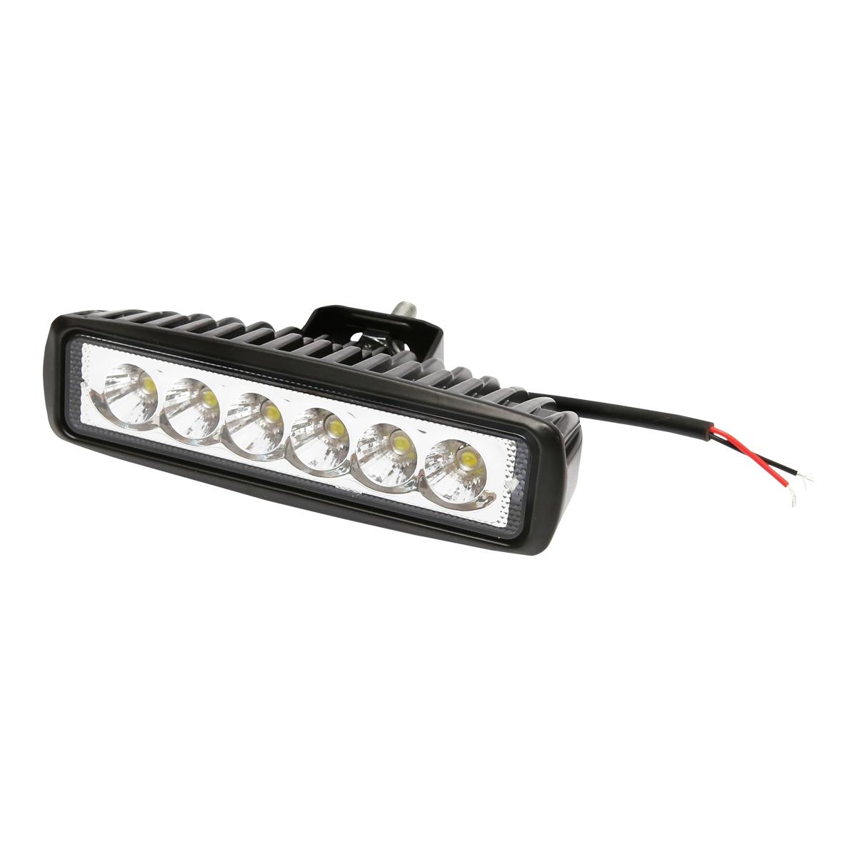 Lampa 6 LED-uri 10-60V 18W unghi de radiere 60 patrat