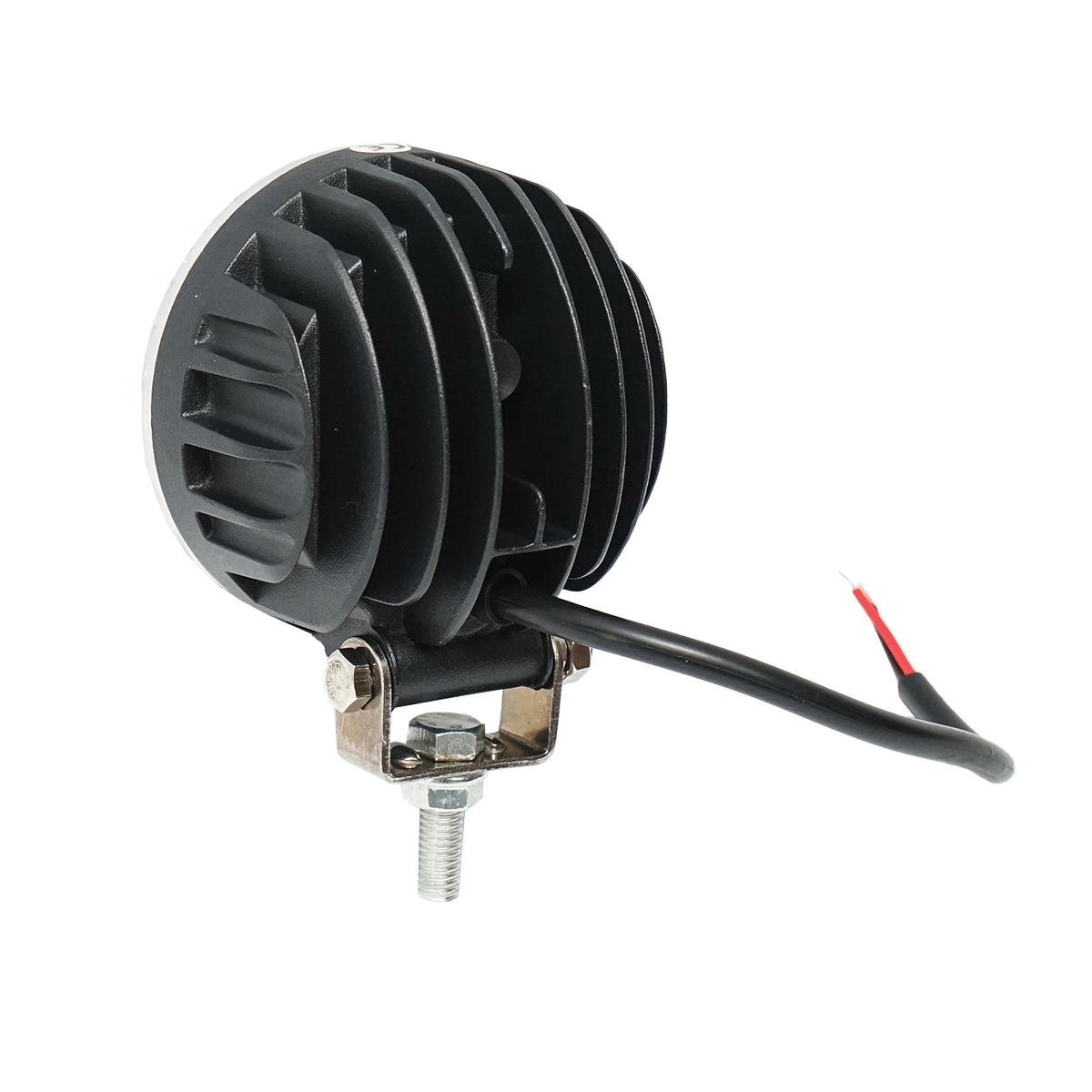 Lampa 4 LED-uri 10-30V 12W unghi de radiere 60 rotund