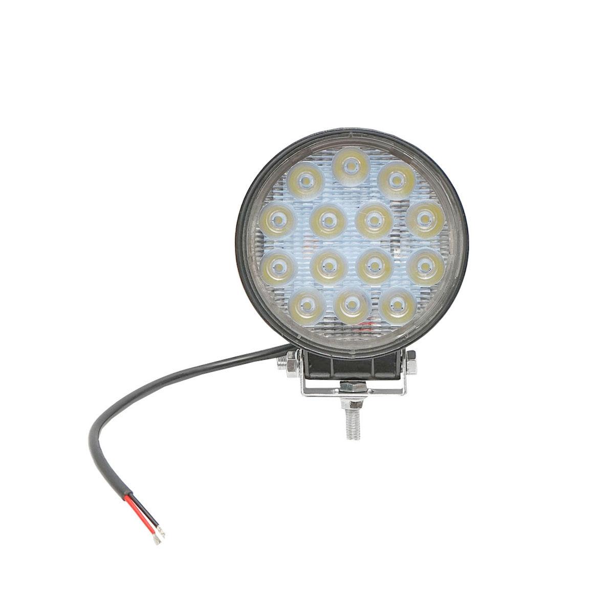 Lampa 14 LED-uri 10-30V 42W unghi de radiere 60 rotund