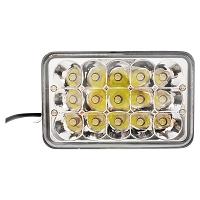 Lampa 15 LED-uri 10-30V 45W unghi de radiere 60