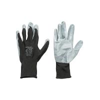 Manusi de protectie sintetice cauciucate negru-gri marimea 10 Breckner Germany