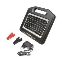 Panou solar cu generator impulsuri 0.96 Joule 7Km gard electric Breckner Germany
