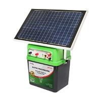 Aparat generator impulsuri 12V 2.5 Joule 40km cu panou solar BX350 Breckner Germany