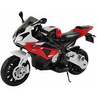 Motocicleta electrica pentru copii BMW S1000RR rosie Hecht