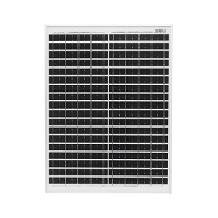 Panou solar 450x340x20mm 20W cu baterie 12V/17Ah, regulator 12/24V 10Ah si 2x port USB Breckner Germany