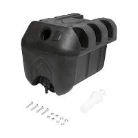 Rezervor apa 30L plastic negru 332x420x331 mm
