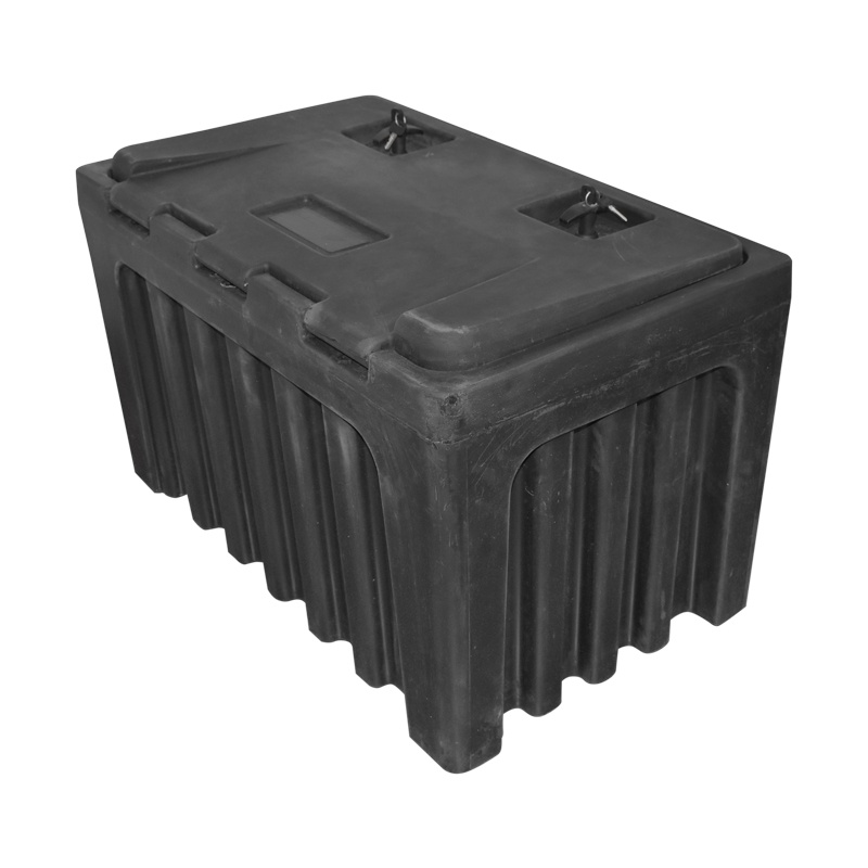 Lada pentru scule fara suport, din plastic negru 460x580x800 mm
