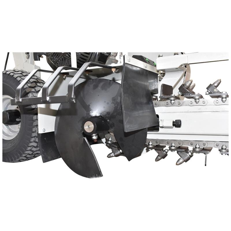 Masina de sapat santuri 15 CP, latime 100mm, adancime 600mm Trencher