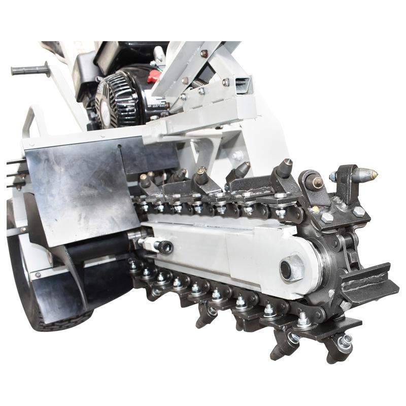 Masina de sapat santuri 6,5 CP, latime 100mm, adancime 450mm Trencher