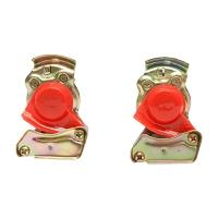 Mufa de cuplare furtun aer remorca M16 - rosie