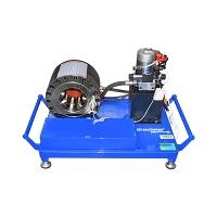 Masina de sertizat furtunuri hidraulice fi6-51mm 12V 1,6kW cu schimbare rapida Breckner Germany