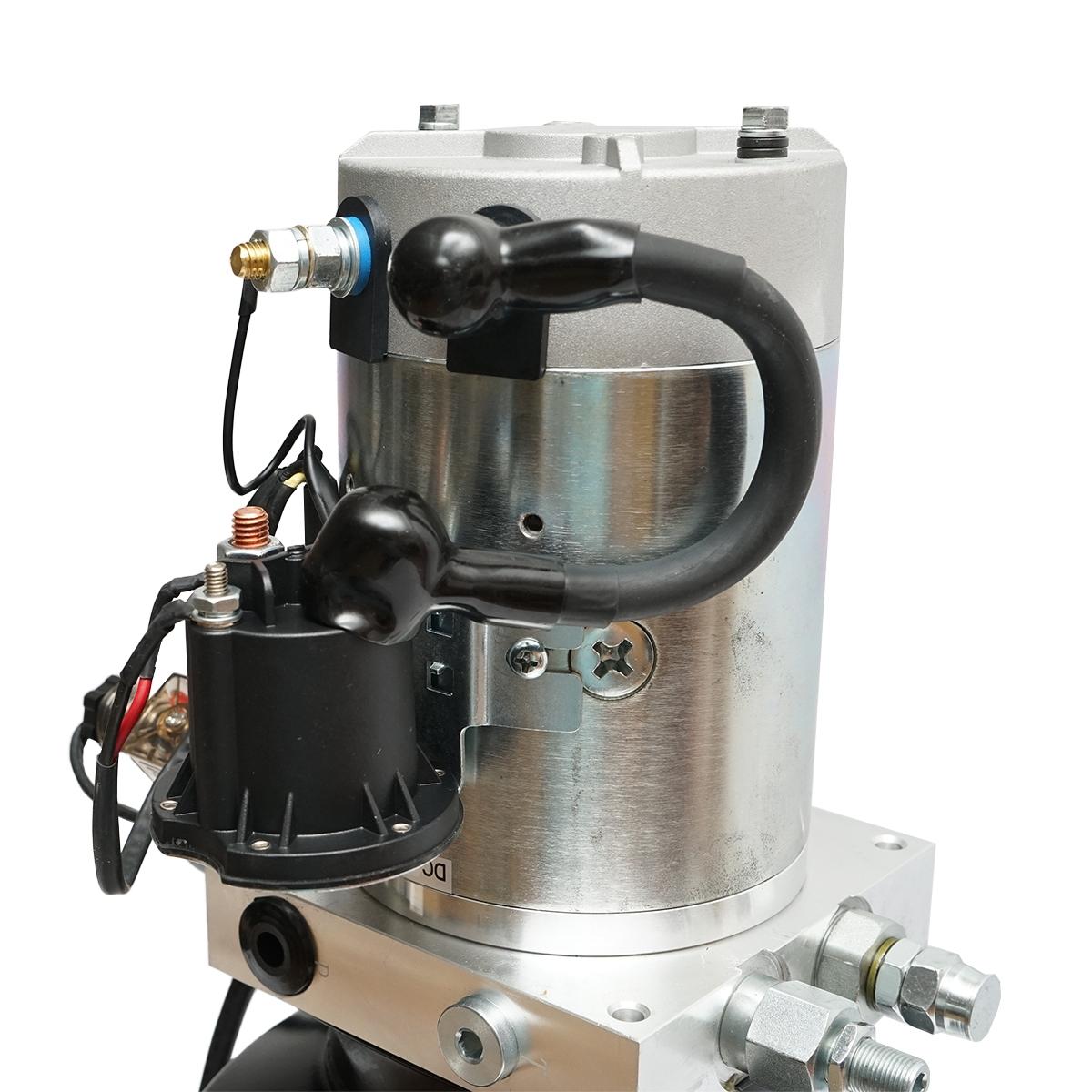 Pompa basculare 12V, 2,2kW cu rezervor metalic 10L si telecomanda
