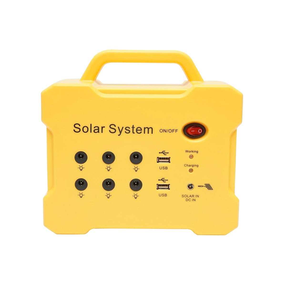 Sistem panou solar cu radio FM /MP3 si 2 becuri 12V/3W Breckner Germany