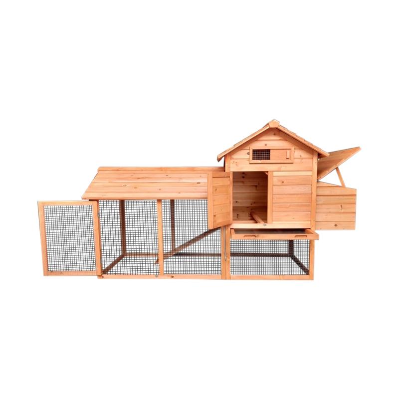 Cotet pentru pasari de curte, din lemn 2040x760x1160mm
