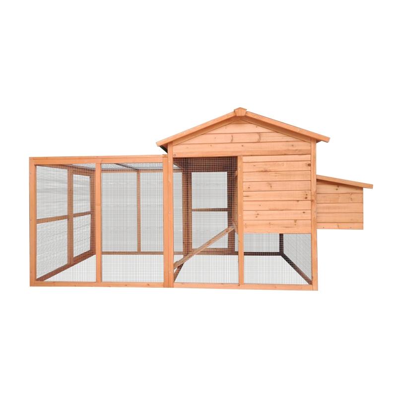 Cotet pentru pasari de curte din lemn 2330x950x1210mm