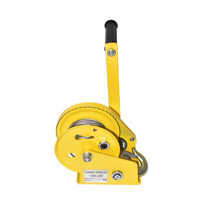 Troliu manual 544Kg, lungime cablu otel 5m
