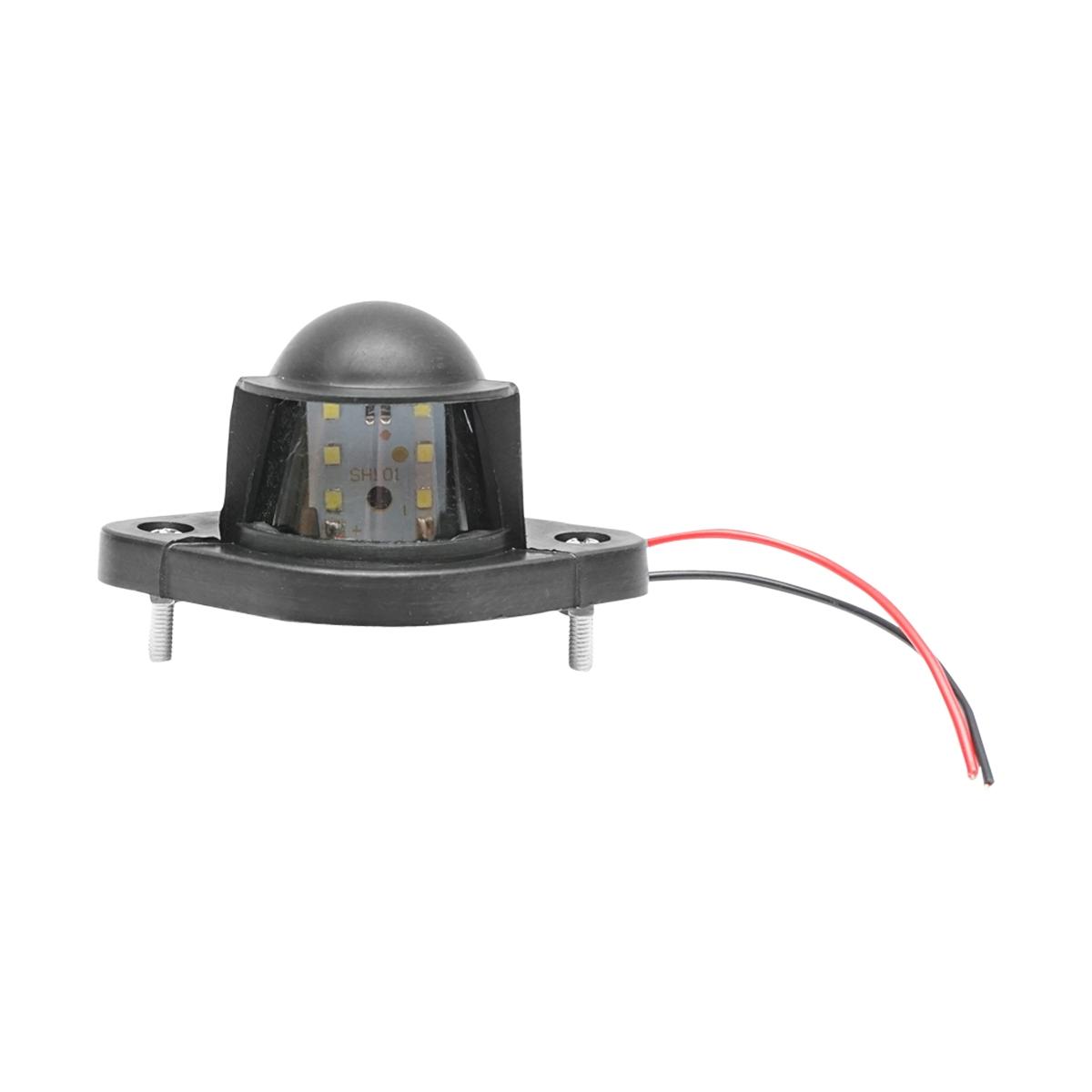 Lampa iluminare placuta inmatriculare camion 72x70, LED 12/24V Breckner Germany