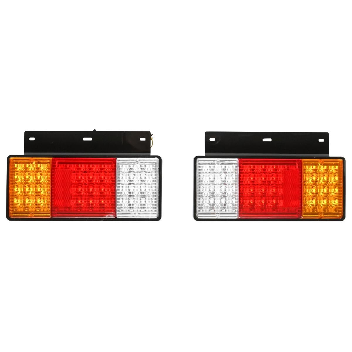 Set lampi spate camion cu LED 320x193, 12/24V Breckner Germany