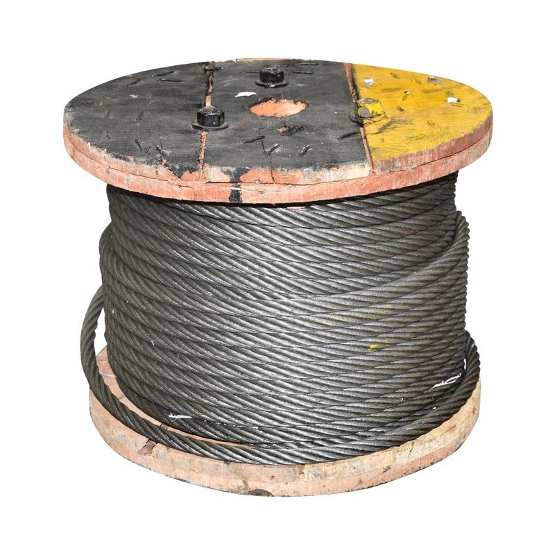 Cablu troliu otel 6x37 fi 16mm cu inima metalica 50m/rola