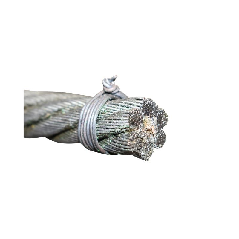 Cablu troliu otel 6x37 fi 14mm cu inima textila 50m/rola