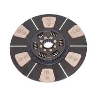 Disc ambreaj complet cu placute ferodou si arc, 16 caneluri fi 327 D1010 Breckner Germany